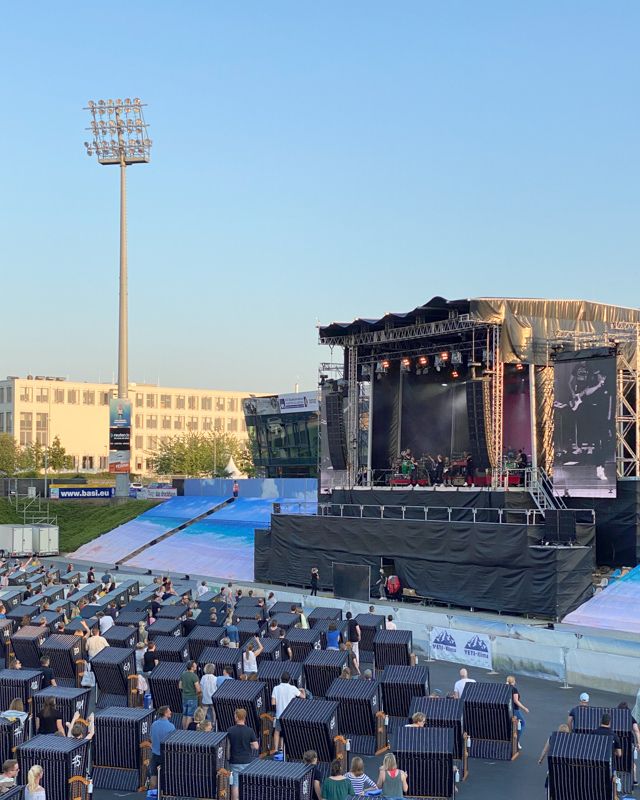 Deutschlandtour Strandkorb Konzerte