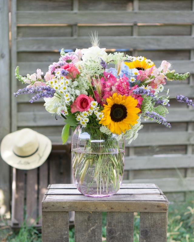 Blumenstrauß Sommer selbst binden