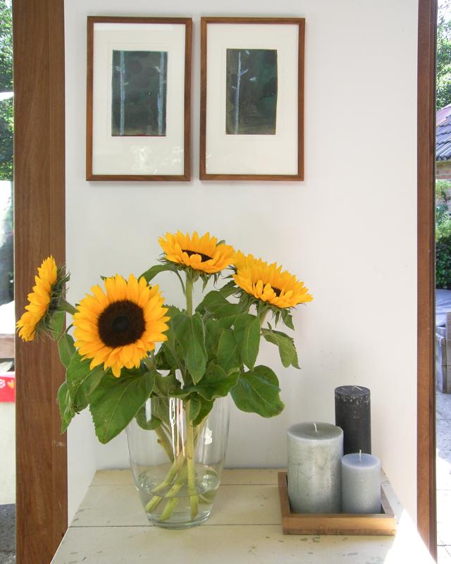Sonnenblumen Van Gogh Stil